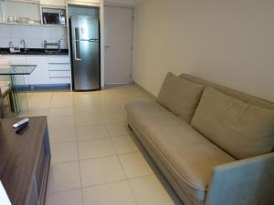 A kitchen or kitchenette at Flats Boa Viagem Prime