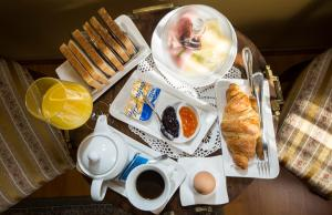 Breakfast options available to guests at Heritage Hotel Pasike