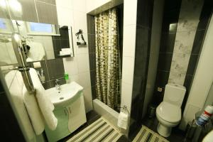 Ванная комната в Hotel Sakura