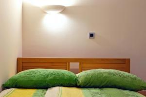 Postelja oz. postelje v sobi nastanitve Hostel Plus Caffe