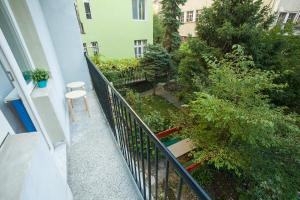 A balcony or terrace at Dolce Vita apartment