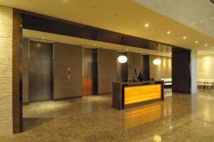 The lobby or reception area at Hotel Sunroute Plaza Shinjuku