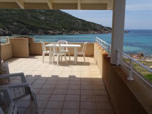 A balcony or terrace at Résidence Fioravanti