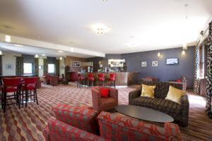 The lounge or bar area at Buchan Braes Hotel