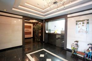The lobby or reception area at Nine Motel Daejeon