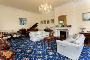 A seating area at Hollybank House