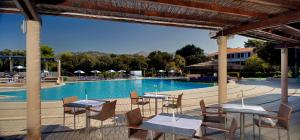 The swimming pool at or close to Tirena Sunny Hotel by Valamar