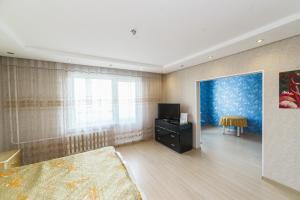 Телевизор и/или развлекательный центр в Apartment on Gagarina 51