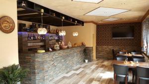 The lounge or bar area at Hotel im Rheintal
