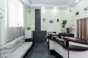 Гостиная зона в Гостиница Рогачев