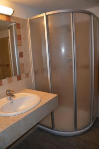 Koupelna v ubytování Bait Molin