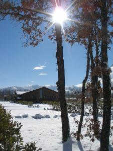 Camping Riaza during the winter