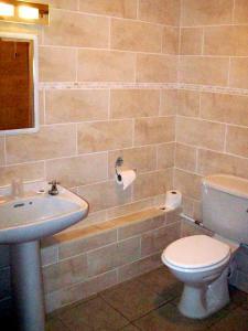 A bathroom at The Fountain Inn
