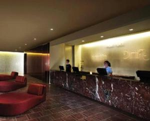 The lobby or reception area at Luxury Suites at Palms Place