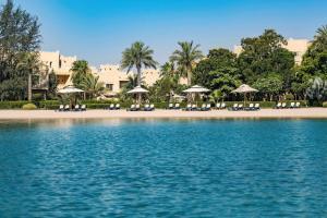 The swimming pool at or near Grand Hyatt Doha Hotel & Villas