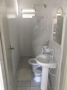 A bathroom at Arcoverde Palace Hotel