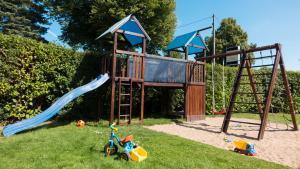 Children's play area at Pension Elmenhorst