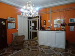 The lobby or reception area at Hotel Suisse