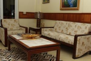 A seating area at Lebon Hotel
