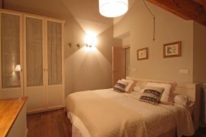 Cama o camas de una habitación en Aparthotel Foratata