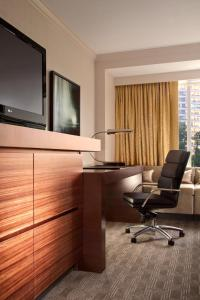 A television and/or entertainment center at Hilton McLean Tysons Corner