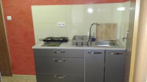 Kuchnia lub aneks kuchenny w obiekcie Dom Wczasowy Olivia