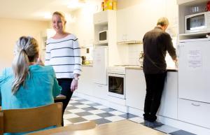 Guests staying at Vandrarhem Svanen