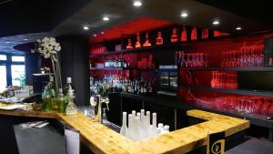 The lounge or bar area at Residentie Piazza