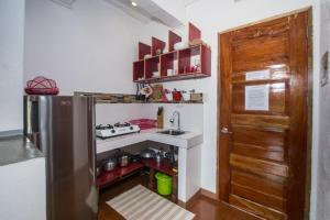 A kitchen or kitchenette at Lanterna Hotel Boracay
