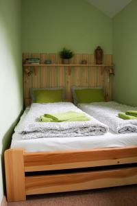 Postel nebo postele na pokoji v ubytování Apartman Sverana