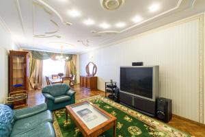 Гостиная зона в Apartment on Konnogvardeysky Bulvar 6
