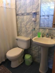 A bathroom at Departamentos El Yugo