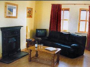 A seating area at Kinsale Coastal Cottages