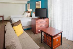 A television and/or entertainment center at Residence Inn Sacramento Cal Expo