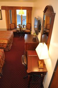 A television and/or entertainment center at Hotel Seward