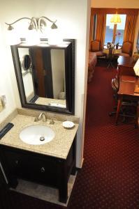A bathroom at Hotel Seward