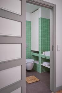 A bathroom at Casas do Arco