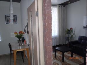 Гостиная зона в Apartment on Lenina 9