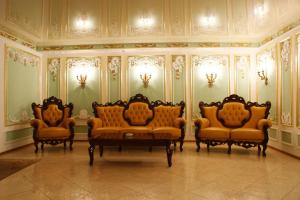 A seating area at Hotel Aristokrat Kostroma