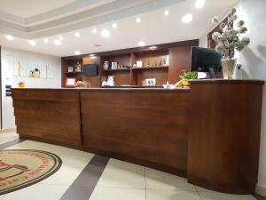 Hall o reception di Hotel Santa Caterina