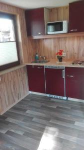 Küche/Küchenzeile in der Unterkunft Ferienbungalow 1