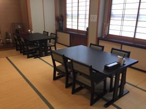 료칸 식사 공간