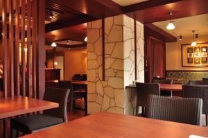 A restaurant or other place to eat at Konpira Onsen Kashikiri Yunoyado Kotone