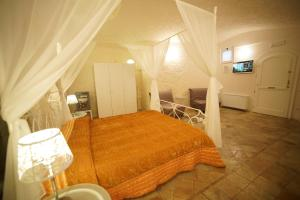 Cama o camas de una habitación en Il Belvedere