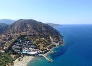 A bird's-eye view of Fodele Beach Water Park Resort