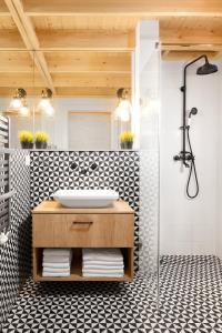 Łazienka w obiekcie Miód Malvina Apartamenty