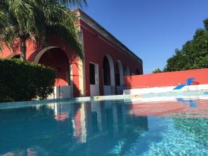 The swimming pool at or near Hacienda Kaua