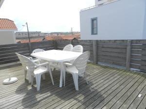A balcony or terrace at Les Terrasses