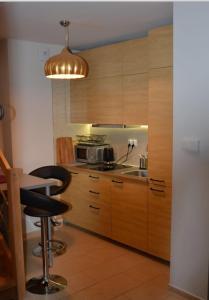 Kuchnia lub aneks kuchenny w obiekcie Green House