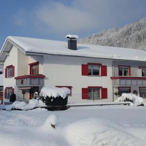 Appartements Gästehaus Monika im Winter